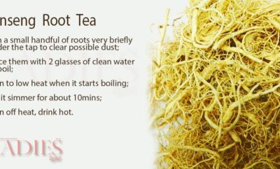 Ginsean Root Tea