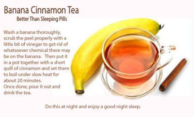 banna cinnamon tea